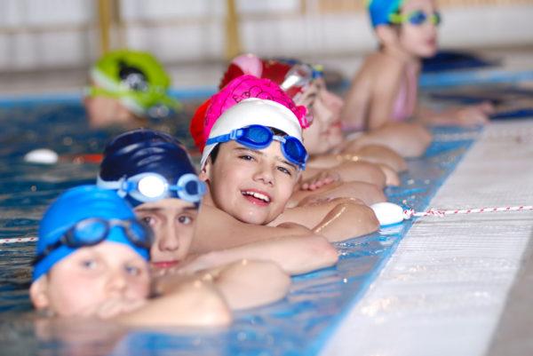 Schwimmunterricht - Kinder